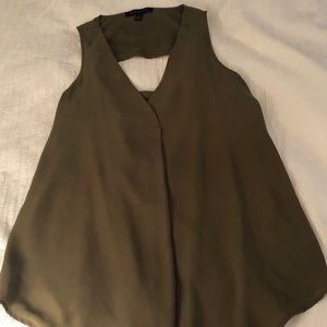 Banana Republic Tops - banana republic olive green tank top blouse, XS